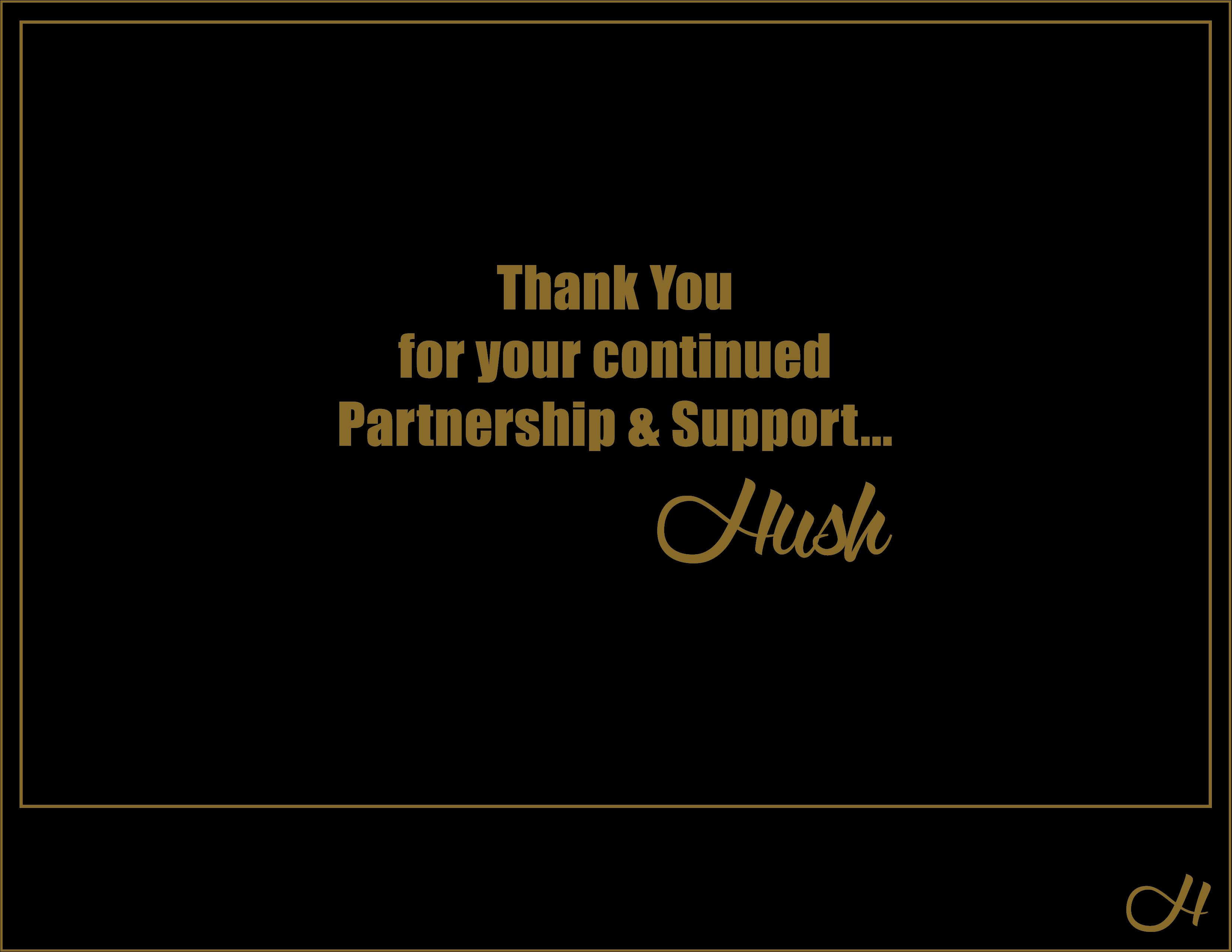 Hush Thank You[1696]